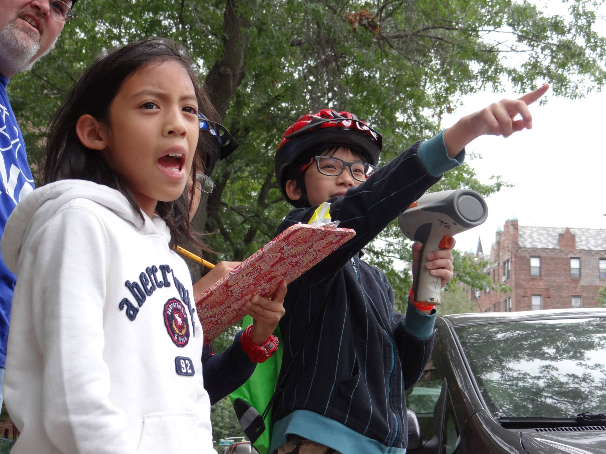 Make Queens Safer - Kid Engineers Traffic Study